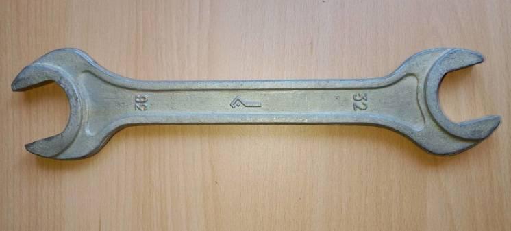 Ключ рожковый 32х36 мм, L=315 мм.  пр.СССР.