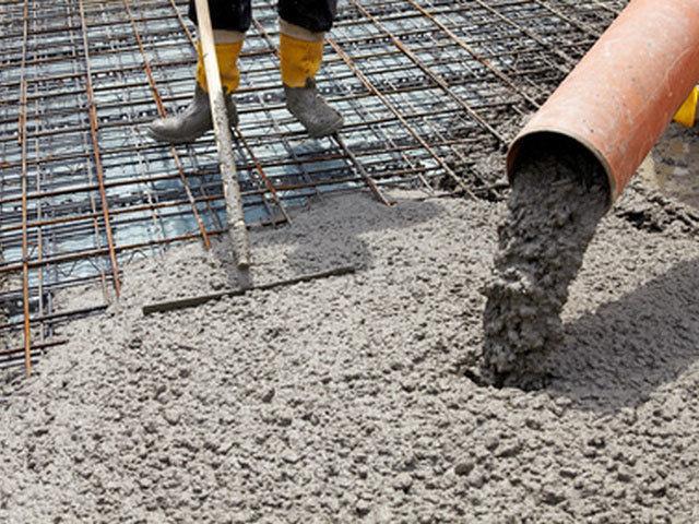 миксерный бетон