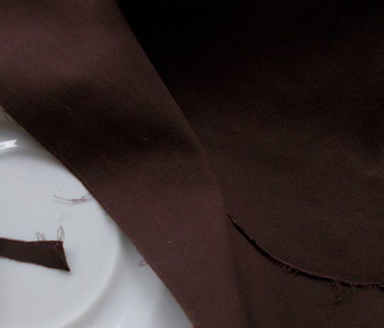 Ткань хлопок коричневый шоколадный, 5 кусков = 1 лот, For Hand Made, р