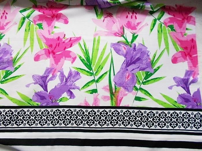 Ткань шелк купон  декоративный цветной 5 кус. Для  рукоделия, поделок