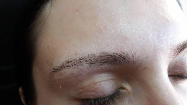 Оформление и окрашивание бровей