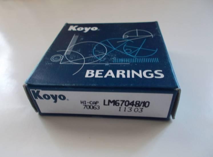 Подшипник LM67048/10 фирмы Koyo