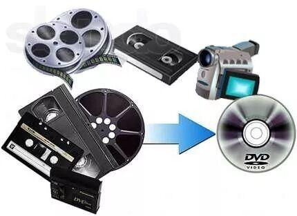 Оцифровка видеокассет (Перезапис з VHS,MiniDV,Video8)РеставрацияВидео