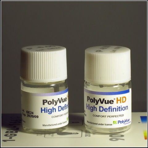 Контактные линзы Polyvu Hd на 6-12 мес