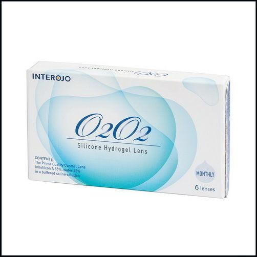 Контактные линзы O2O2 (силикон-гидрогель), Корея