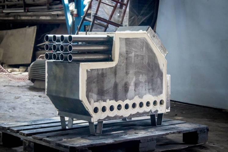 Твердотопливный котел УДГ 16-30 кВт с КПД 92% (10 часов горения)
