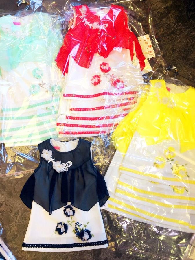 Красивое платье для девочки Happy kids Турция