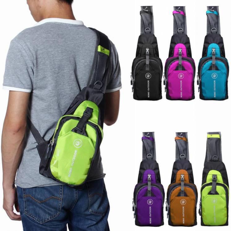 Cпортивная мужская сумка рюкзак бананка через плечо Bobo Outdoor цвета