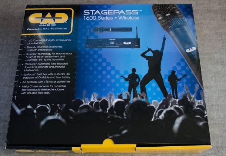Радіомікрофон Cad Stagepass Wx1600
