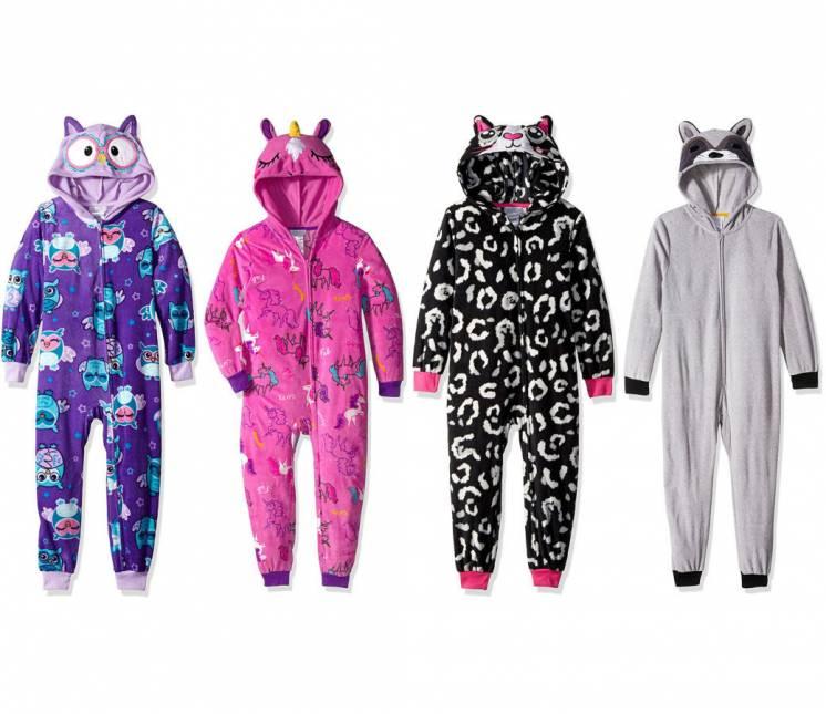Яркие и веселые домашние костюмы пижамы Komar Kids для детей 4-16 лет