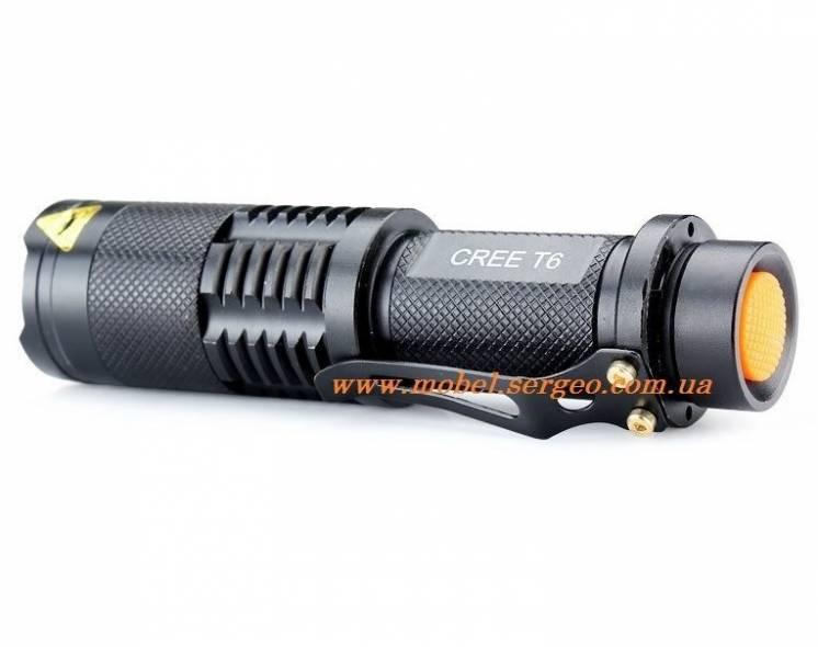 Фонарик светодиодный Enjoydeal (UltraFire) cree XM-L T6 UZ-98