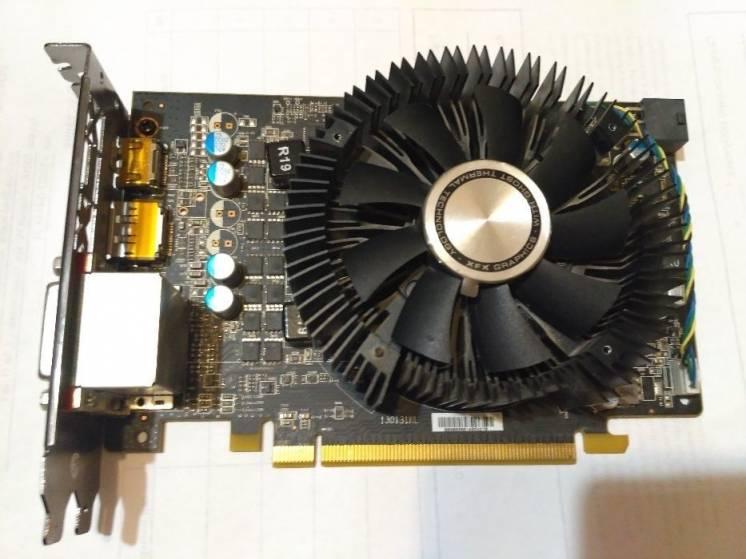 2148К - Видеокарта AMD XFX R7 260x 1Gb DDR5
