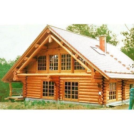 Строительство загородного дома. Дом из бруса