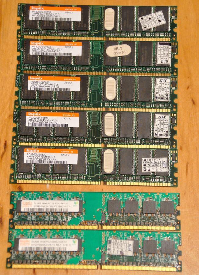 Память DDR-DDR4