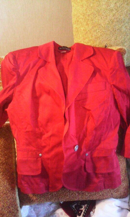 Пиджак женский красный 42-44/S размер-size