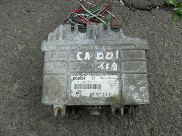 Блок управления VW , Seat, Bosch 0261203752/753, VW 6K0907311B