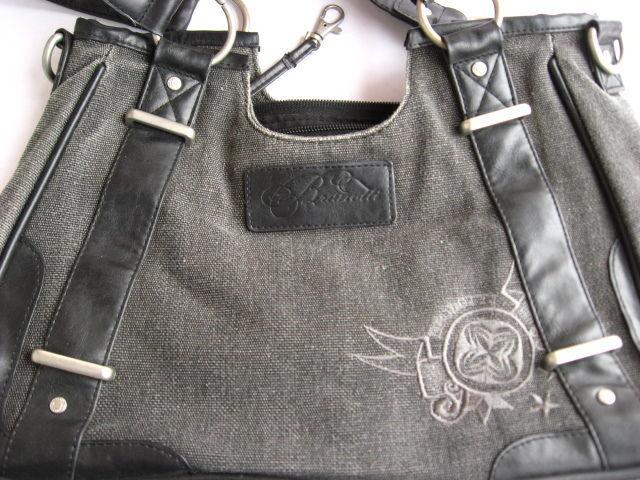 фурнитура сумки фирменная брунотти, кольца, молнии, подкладка хлопок