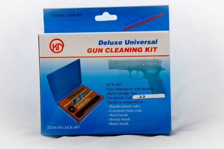 Набор для чистки оружия 22 калибр (шомпол,3 ерша,масленка)