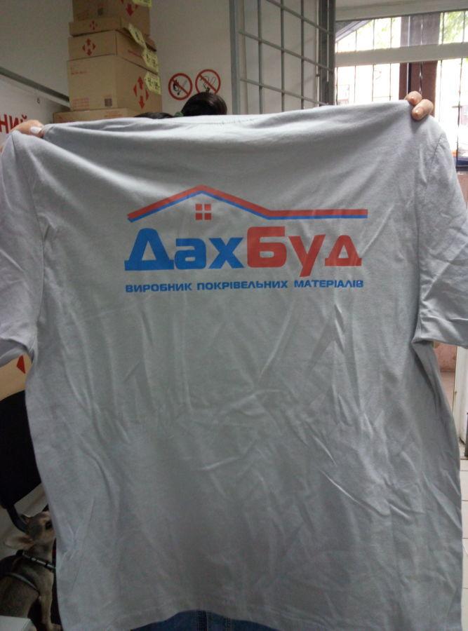 Услуга по нанесению логотипов на футболки: мимаки, сублимаци