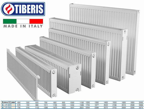 Радиаторы TIBERIS - тепло с комфортом!