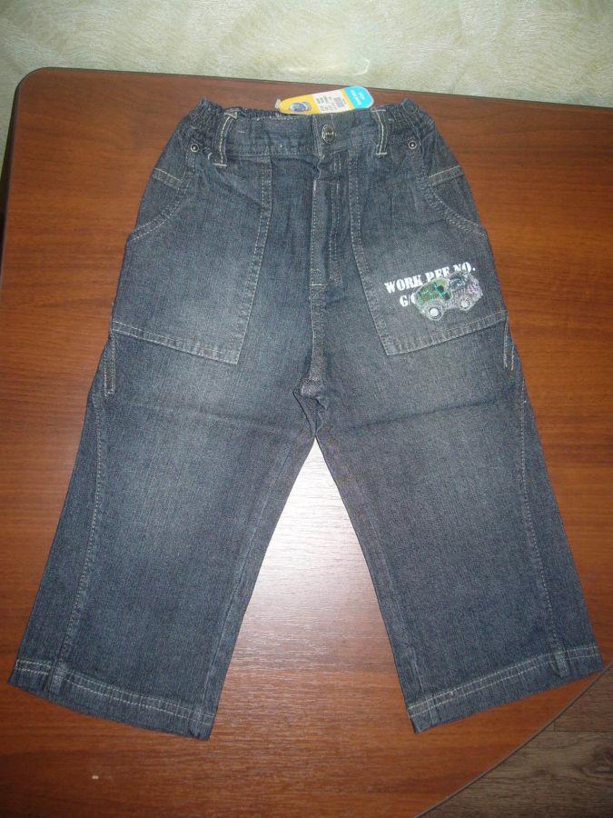 новые джинсы на рост 116