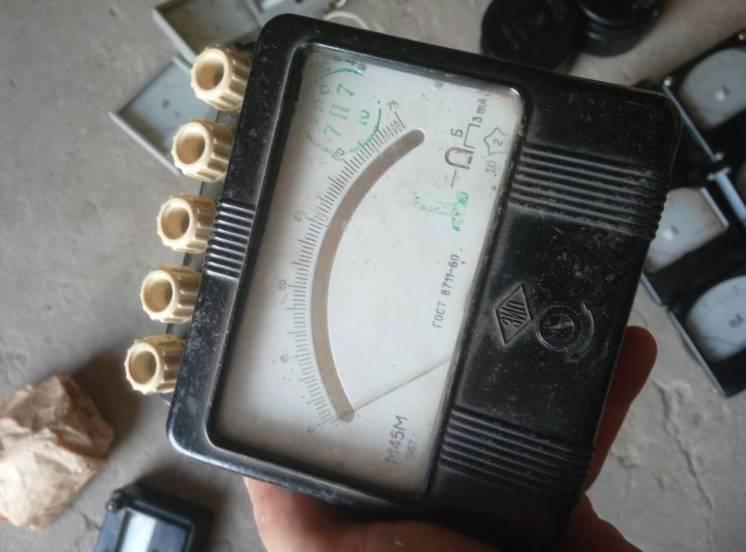 Миллиамперметры М-45М, 0-75мА. -1шт.