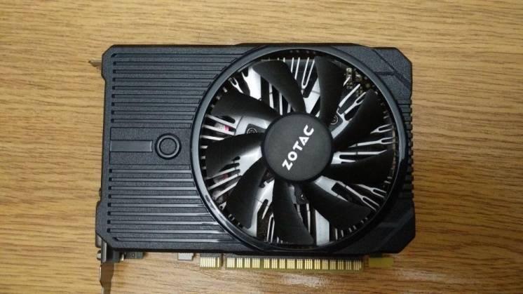 Видеокарта Zotac GTX 1050Ti 4Gb 128 bit GDDR5