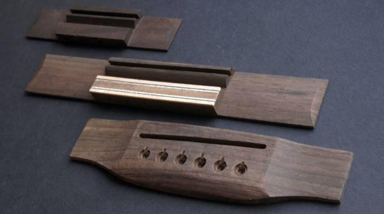 Бридж, струнодержатель для акустической, классической гитары, укулеле