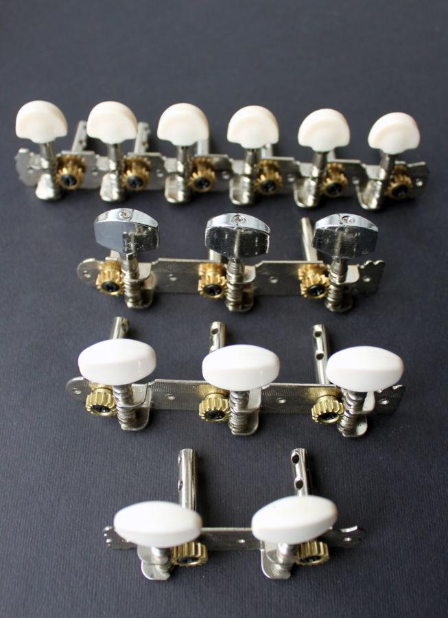 Колки для акустической классической гитары, укулеле, колковый механизм