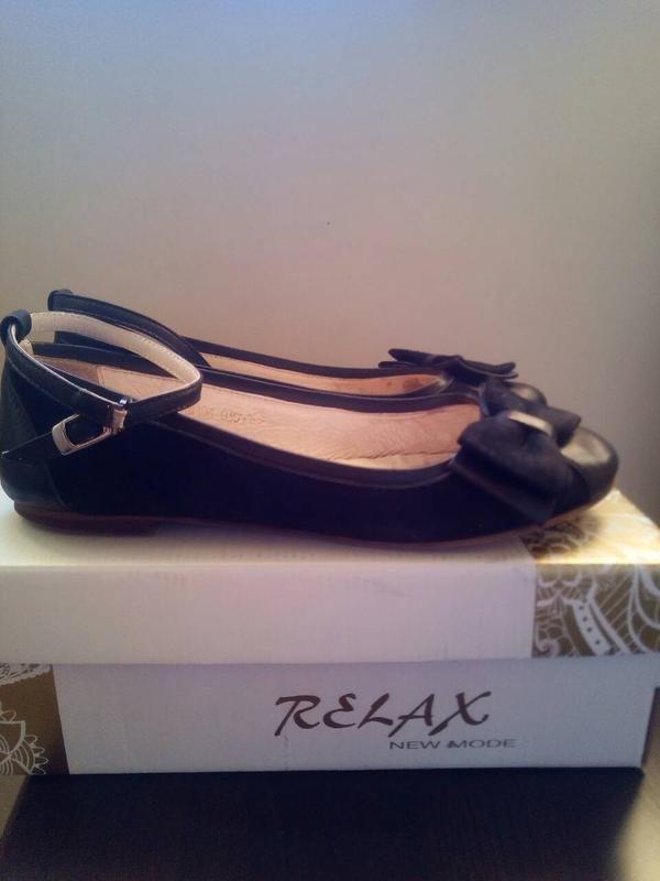 Супер туфли- балетки для школьницы