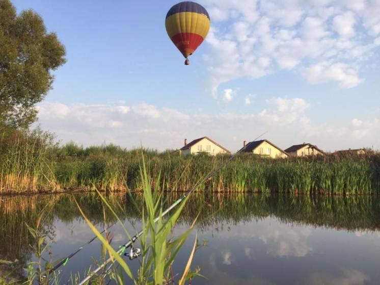 Путешествие на воздушном шаре в Киевской области.