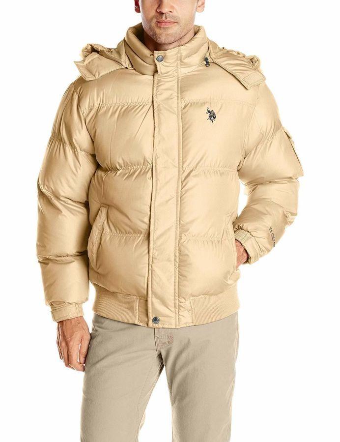 U. S. Polo Assn зимняя мужская куртка США, оригинал. XL