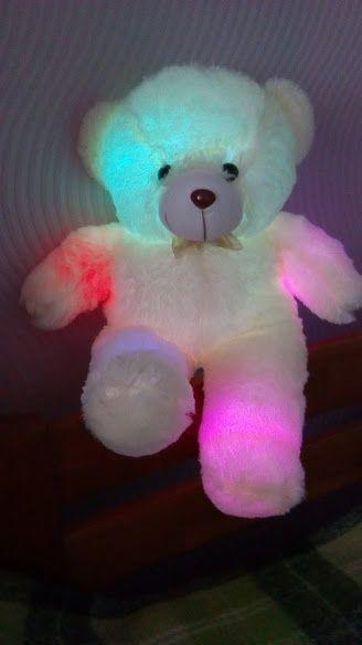 Плюшевый светящийся мишка