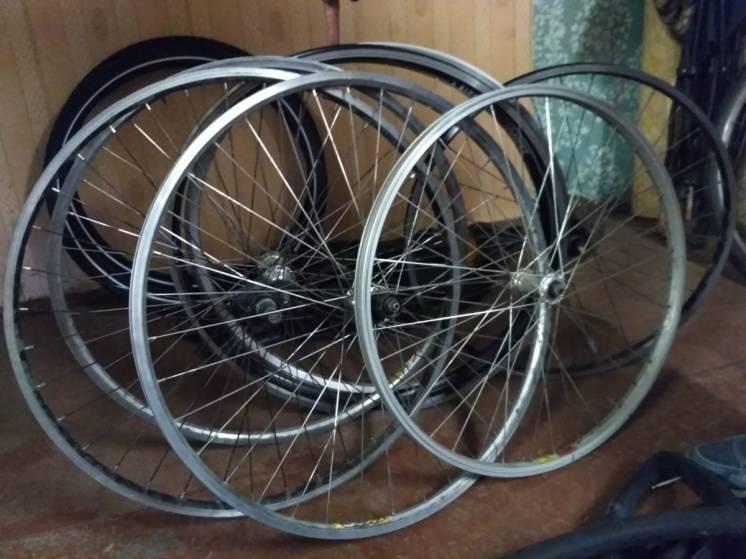 Велосипедні обода на 26 і 28