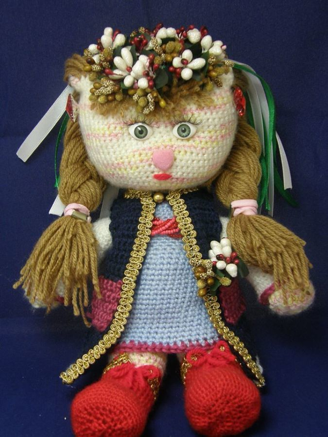 Мягкие сувенирные куклы