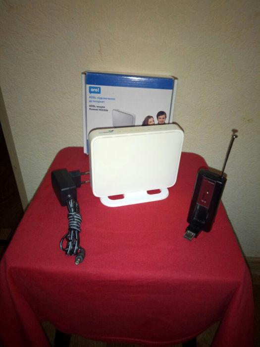 Комплект роутер WiFi и 3G модем Интертелеком (с номером)