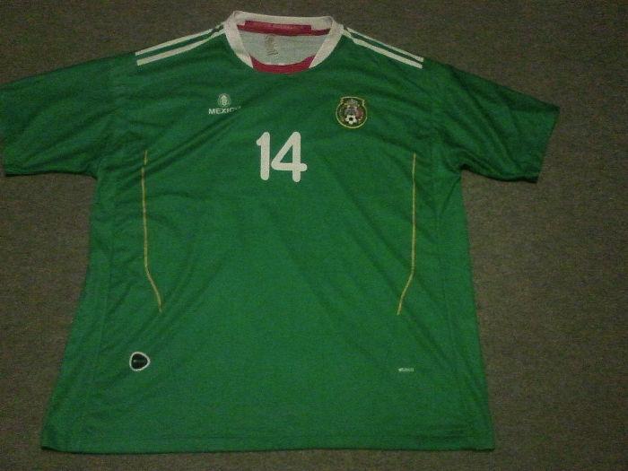 Новые футболки сборной Мексики - Чичарито и Ливерпуль - Торрес