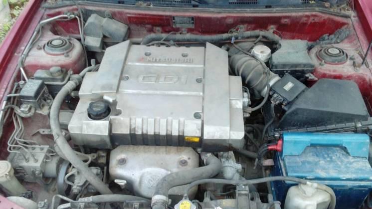 Двигатель ДВС мотор 4G93 Mitsubishi Carisma 1.8 GDI
