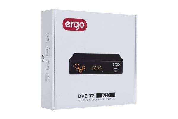 Т2 тюнер (ресивер) DVB-T2 Ergo 1638