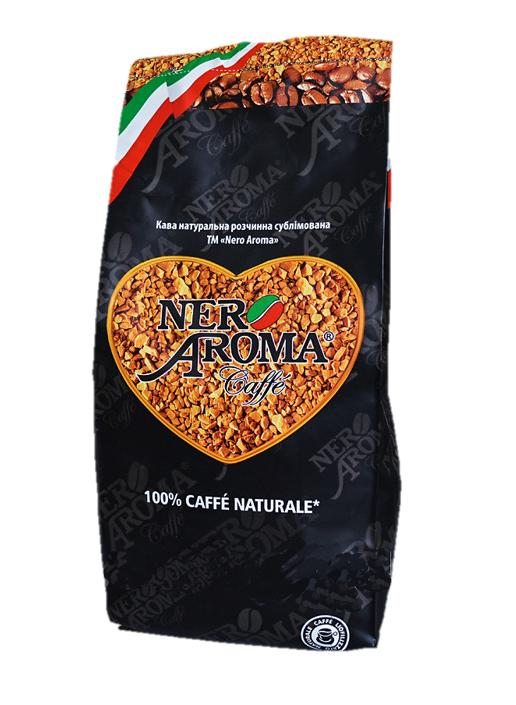 Кава розчинна сублімована Nero Aroma
