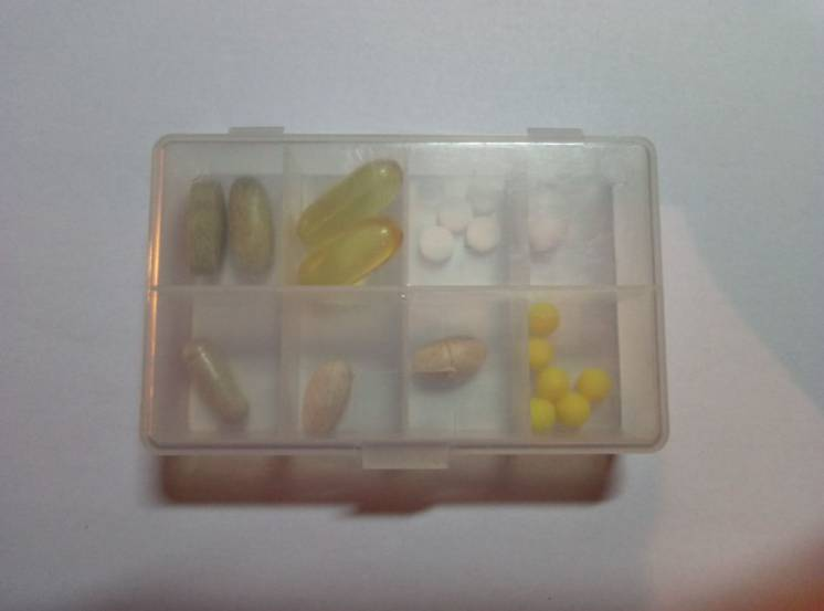Таблетница Life Box / контейнер для витамин