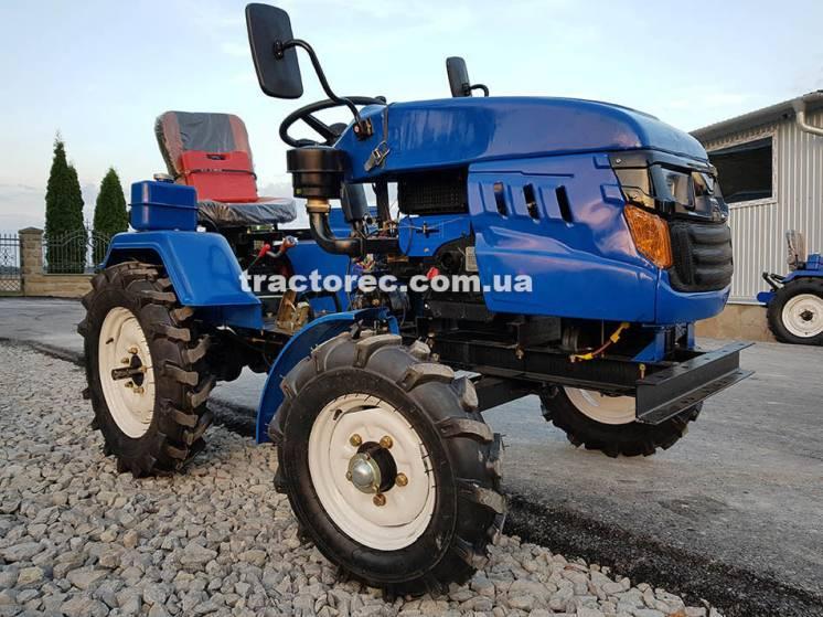 Мототрактор Лидер Т-160 Х з суперкомплектом! минитрактор Lider трактор