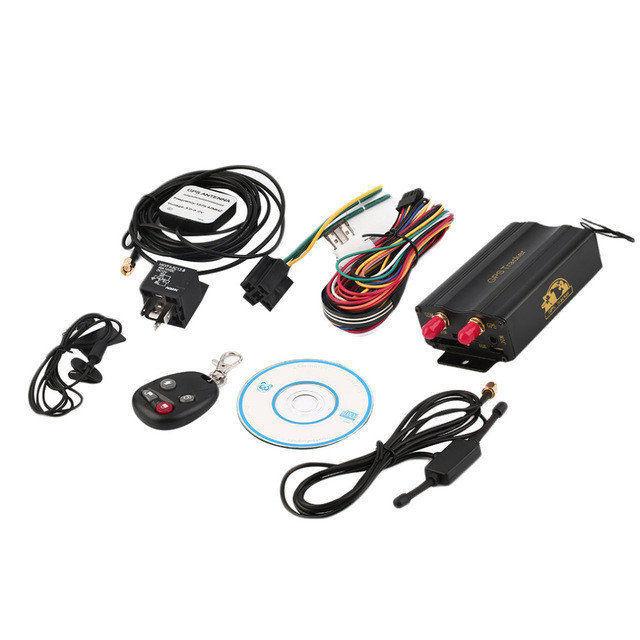 Автомобильный GPS трекер системы GPS / GSM / GPRS автомобиля TK103B.