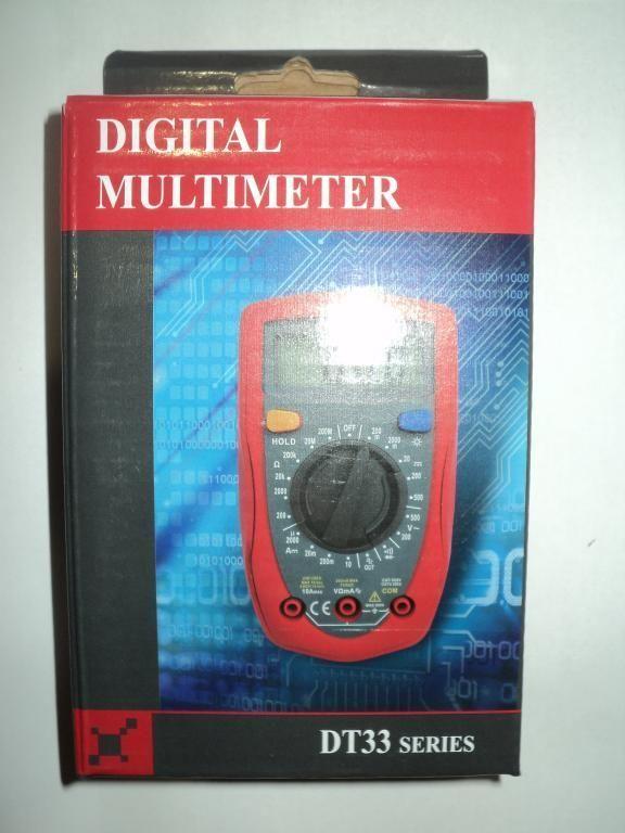 Мультиметр тестер DT33 B
