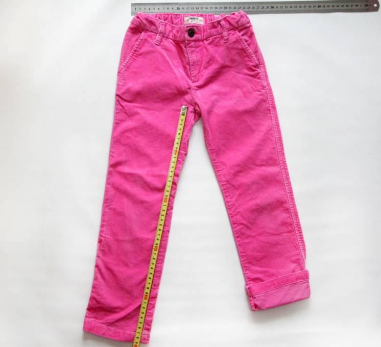 Дитячі рожеві штани, джинси, штаны, детские джинсы