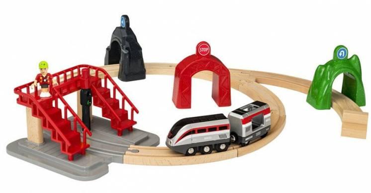 Brio (Брио) 33873 деревянная железная дорога Smart Tech