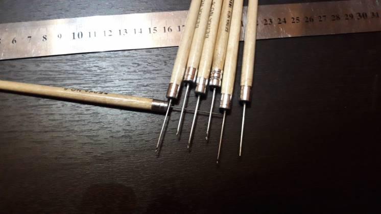 Люневильские крючки для вышивания тамбурным швом