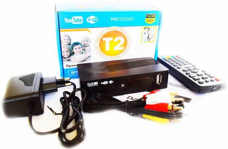 Цифровой телевизионный приемник тюнер T2 ресивер Wifi тюнер
