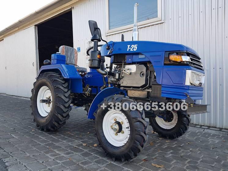 Булат Т-25 + 2Х плуг +фреза 140см! лучший мототрактор на рынке трактор