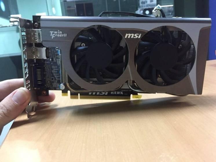 Видеокарта MSI R5770 Hawk! 1GB GDDR5/128bit шина! (875/4800)